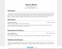 Resume.com - Steven Mesia