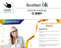 EL TIEMPO: Recruitment Ads