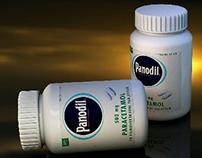 Pharmaceutical 3D packshot rendering
