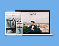 TailorMade: Homepage Layout mockup