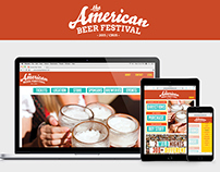 The American Beer Festival Responsive Web