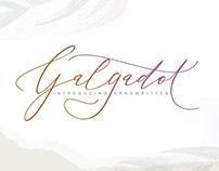GALGADOT|| HANDWRITTEN
