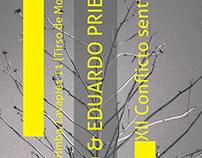 Poster para recital de poesía en Madrid