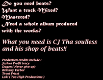 Advertisement for myself as a producer