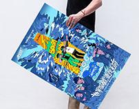 雪花 super—X 宣传海报