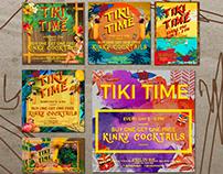Kinky Tiki Bar Bali - Art Direction
