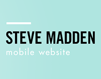 Steve Madden Mobile Website