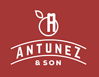 Antúnez & Son Logo Proposal and Web