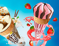 Ice cream super cono