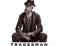 Tradesman Coffee Shop & Lounge Logo by Steven Noble