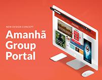 Amanhã // Website Concept