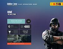 Six Siege Colorful UI