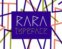 Rara Typeface