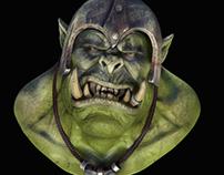 Orc head study