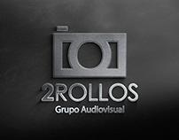 Logo 2Rollos | Por Sebastian Marín ®