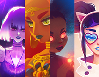 Characters I 2018