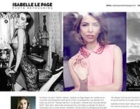 Website: Isabelle Le Page