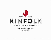 KINFOLK CHICKEN & WAFFLES