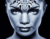 People as animals. Makeup