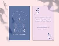 Visual identity / El Contacto Sana
