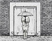 B&W Umbrella