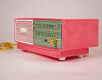 Transistor Radio Lamp