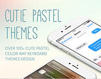 Pastel app design