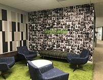 environmental design - new office floor lobby branding