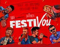 Festivou (Conceito, Impressos e Digital)