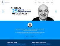 O'Neill Media landing page design