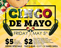 Cinco De Mayo Poster Design