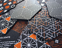 BRANDING/Studio O+A Holiday Coaster Set