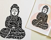 Tricycle magazine - Buddha Illustration