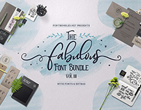 THE FABULOUS FONT BUNDLE VOLUME III