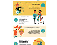 Illustration - Inforgraphic Style Disability PSA