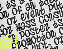 Postertoaster - Free Font