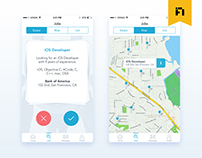 HIGH TECH CAREERS | iOS App UI Design