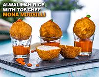 Al Walimah Photoshoot - With Top-Chef Mona Mousilli