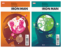 Iron Man cover designs
