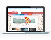 Site des Éditions Alice Jeunesse