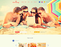 Website design for advertising campaigns
