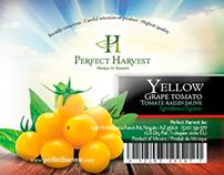 Etiquetas / Perfect Harvest