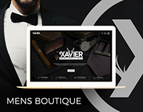 Mens Boutique Fashion Clothing Ecommerce Website UI UX