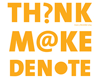 Think+Make+Denote-Promotional Magazine