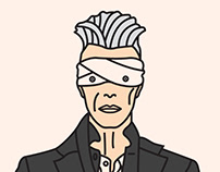 Cartoon Bowie