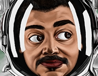 The Beautiful People - Neil Degrasse Tyson D. Painting