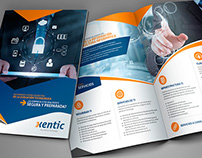 Xentic / Brochure y posters