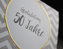 50. Wedding Anniversary Greeting Card