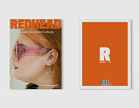 REDHEAD: ISSUE 01 // EDITORIAL & UI DESIGN // 2020