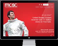 MOSO Conference Website Design